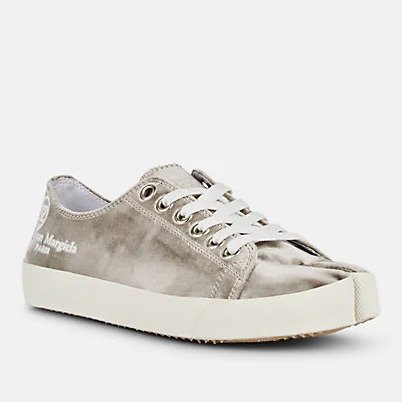 Women's Tabi 丝绒帆布鞋