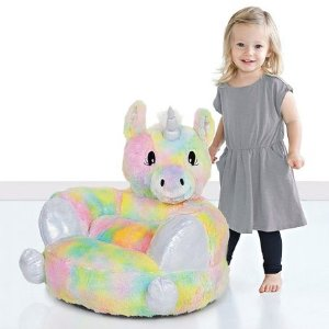 All for $34.99Ending Soon: Precious Animal Plush Chairs Sale @ Zulily