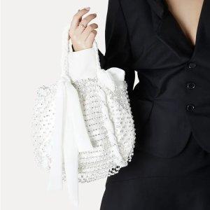 Vivienne Westwood5折!2色可选小号手提包