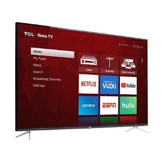 $469 (原价$579.99)TCL 65S423 65吋 4K HDR Roku 智能电视