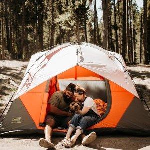 $129起Coleman 户外野营帐篷促销 多Size可选