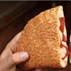 FREE!Sprint Customers: Pizza Hut Free Pepperoni P'Zone