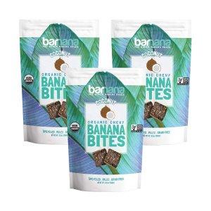 $8.53Barnana 有机椰子香蕉味小零食3.5oz 3包
