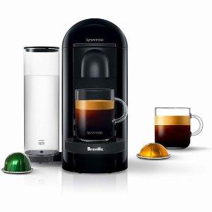 史低价 $149.99限今天:Nespresso VertuoPlus 胶囊咖啡机特价  德龙/铂富联名款