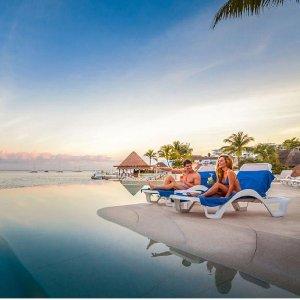 $79起  科苏梅尔精选推荐度假村之一墨西哥科苏梅尔岛 Grand Park Royal 4星级全包度假村