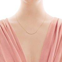 Tiffany & Co. 18KYG 笑脸项链 mini款  41~46cm 35189459