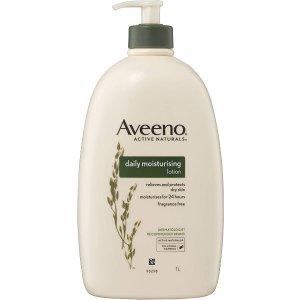 Aveeno燕麦身体保湿乳 1L,