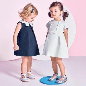 低至5折Jacadi官网 年中大促女童连衣裙热卖