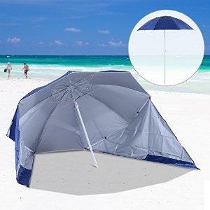 7.6折,直径2.1m,含侧帆布沙滩阳伞