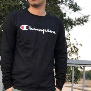 7.2折 $24.51(原价$33.99)手慢无:Champion 男士纯棉LogoT恤 S码