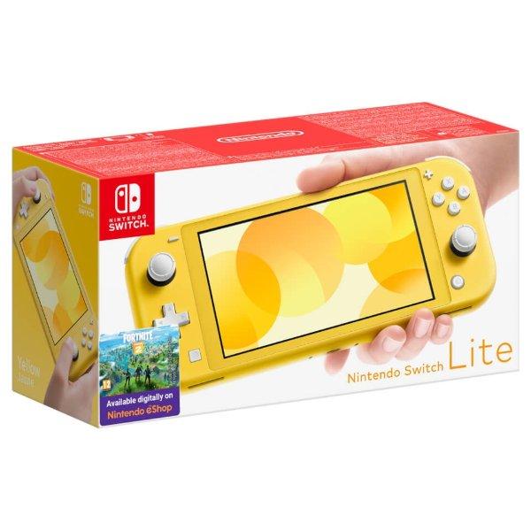 Switch Lite 姜黄色