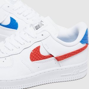 Nike满£100享78折Air Force 1 新款双色球鞋