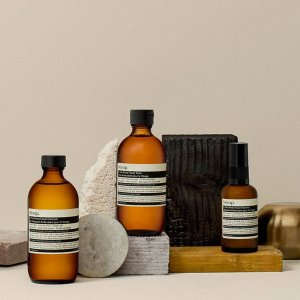 up to 27% offon selected items of AESOP @Skinstore