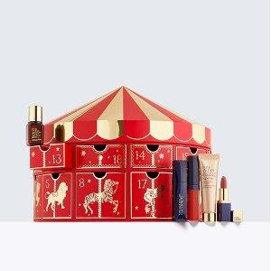 万众期待圣诞日历也来啦!含24件产品Estee Lauder 超值圣诞系列美妆护肤礼盒上架