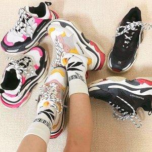 全场9折 £445.5入新款袜子靴巴黎世家 多款鞋靴 包袋 香水热卖