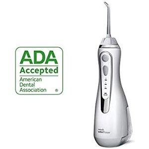 Amazon.com: Waterpik Cordless Water Flosser Rechargeable Portable Oral Irrigator For Travel And Home – Cordless Advanced, WP-560 White: Beauty