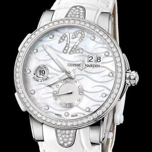 额外减$4000 $5995 包邮免税雅典镶钻珍珠母贝机械奢华女表
