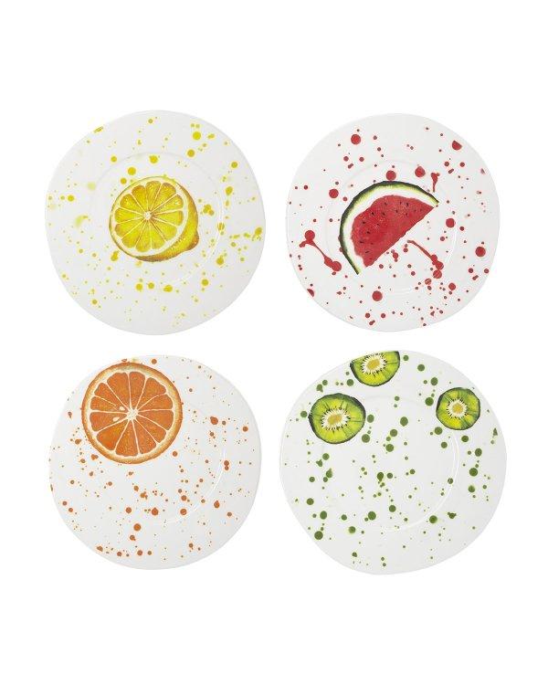 可爱水果餐盘 四件套