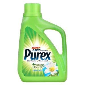 一律$1.99Purex 精选多款洗衣液、洗衣香氛促销