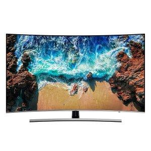 $897.77(原价$1499.99)Samsung 55吋 UHD LED 曲面智能电视 六折优惠