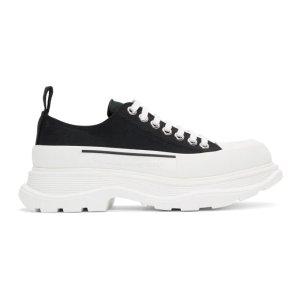 Alexander McQueen定价$785新款厚底运动鞋