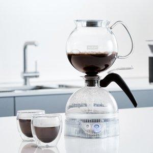 封面虹吸式咖啡壶$45Bodum 丹麦时尚咖啡茶具低至4.5折大促, 法压壶$9.99