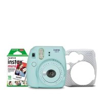 Instax Mini 9 拍立得相机 + 10张相纸 + 保护壳