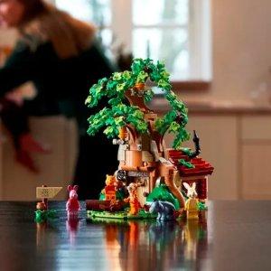 会员享双倍积分LEGO 三月大量新品上市 速抢小熊维尼
