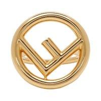 Fendi logo戒指