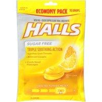 Halls 蜂蜜柠檬润喉糖 70粒