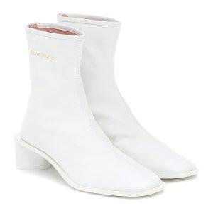 Acne Studios方头踝靴