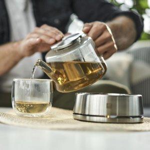 Zwilling+$10.5换购价值$37双壁茶杯2个玻璃咖啡/茶壶