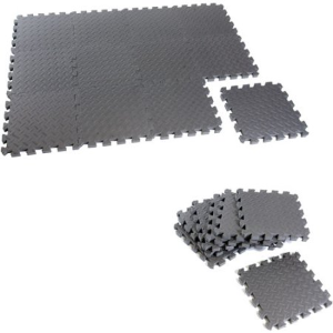 $8CAP Barbell Puzzle Exercise Mat, 12 Piece