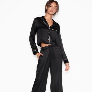 $9.99起+限时$25免邮Victoria's Secret 睡衣热卖 长款睡衣2件套$21.99