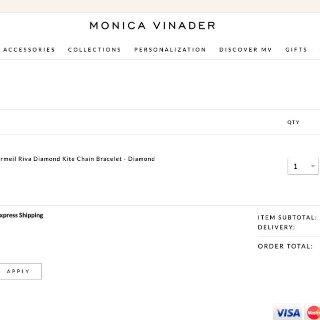 Monica Vinader 这个你必须了解的轻奢品牌