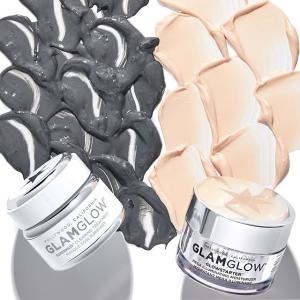 最高立减$30+包邮Glamglow 护肤品热卖 收发光面膜