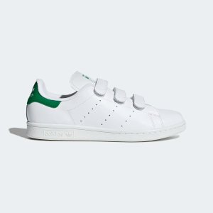 """Stan Smith""""绿尾""""运动鞋"""