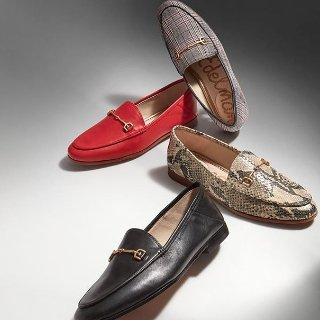 7.5折+部分款式满$100送$25礼卡Sam Edelman 美鞋热卖 好价入舒适高跟鞋、大牌平替乐福鞋