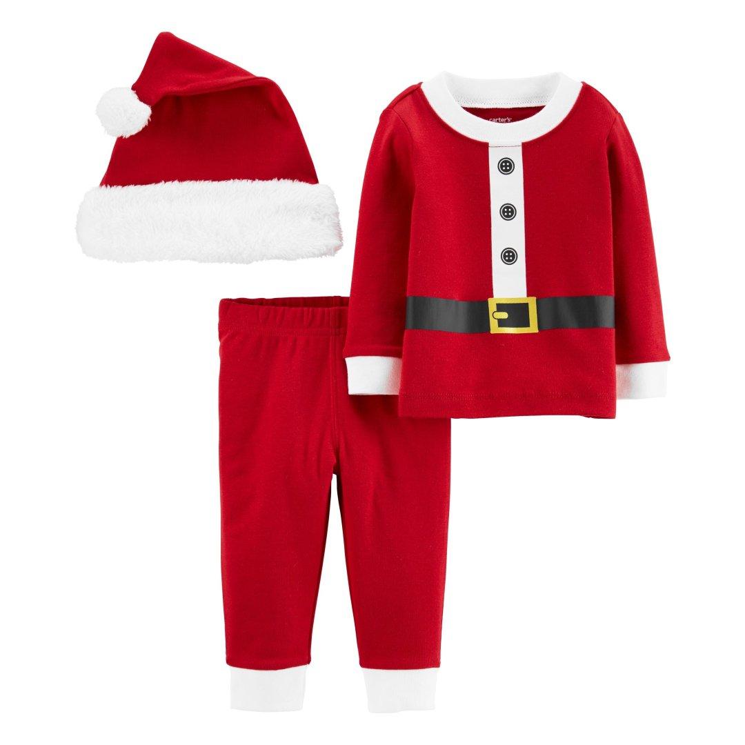 婴儿圣诞3件套