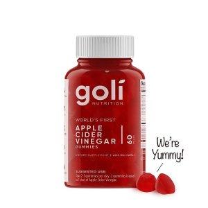 Goli 有机苹果醋软糖 酸甜好吃停不下来