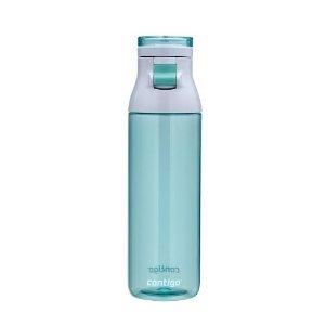 Contigo Jackson Reusable Water Bottle, 24oz, Grayed Jade