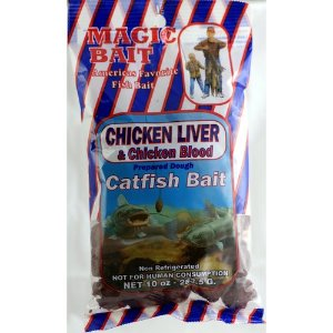 MAGIC BAIT - CHICKEN LIVER, catfish dough bait