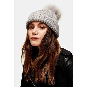 Topshop毛线帽