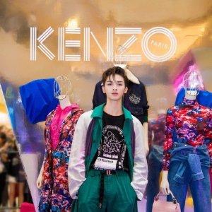 低至5折 €103收戚薇同款卫衣Kenzo官网 冬季大促开启 戚薇夫妇同款get 美美过情人节