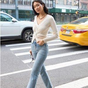 Buy 1 Get 1 50% Off+FSExpress Womens Jeans Sale
