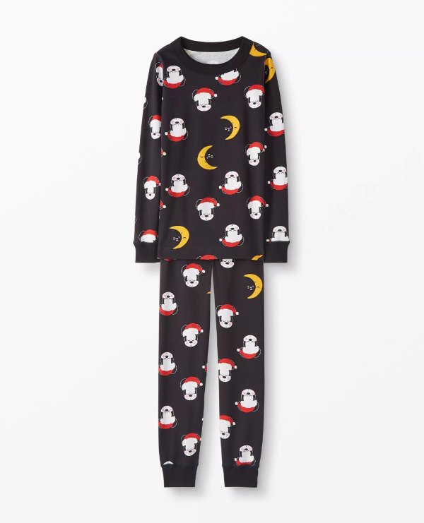 儿童有机棉睡衣