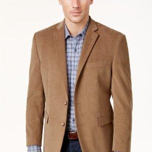 $44.99起Macys 男士设计师品牌西装外套专场,收Ralph Lauren