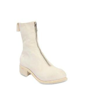 Guidi40MM 拉链款短靴