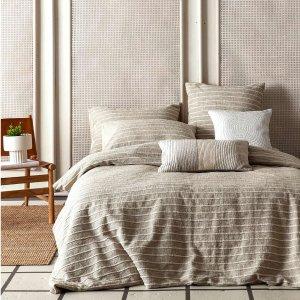 7折起 $49收100%纯棉款上新:Simons 高颜值ins风床品 让你的卧室兼并舒适与时尚