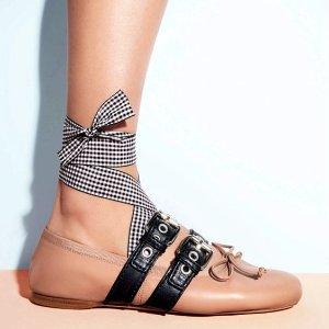 低至5折 芭蕾舞鞋$381起 超多色Miu Miu 美鞋、美包、配件等热卖